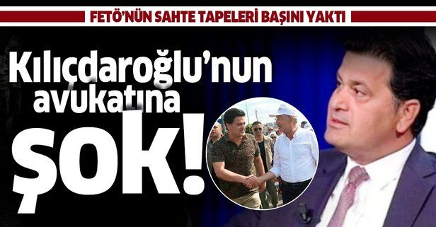 Kılıçdaroğlu'nun avukatı Celal Çelik'e 'Ağır Ceza' şoku! FETÖ'nün sahte tapeleri başını yaktı .