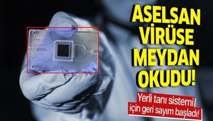 Koronavirüs salgınına karşı hızlı çözüm! ASELSAN yeni tanı sistemi geliştiriyor
