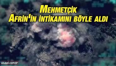 Mehmetçik hastaneye saldıran terör örgütü PKK/YPG'ye ait hedefleri vurdu