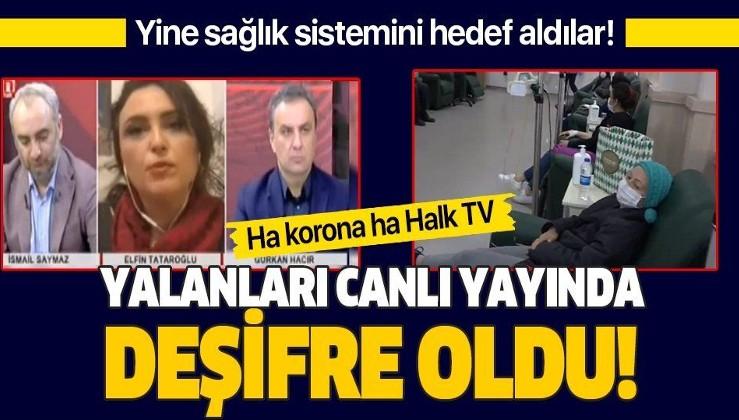 Sağlık sistemini hedef alan Halk TV'nin yalanı canlı yayında bozuldu! İşte iftira atılan o hastaneden görüntüler