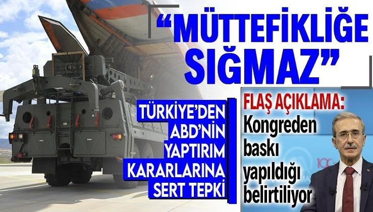 Savunma Sanayii Başkanı İsmail Demir'den flaş yaptırım açıklaması: Herhangi bir zafiyet oluşacağını düşünmüyoruz