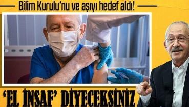 Son dakika: CHP Genel Başkanı Kemal Kılıçdaroğlu'ndan Bilim Kurulu Üyelerine skandal sözler!