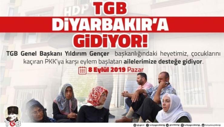 """Türkiye Gençlik Birliği Sessiz Kalmadı: """"ANALARIMIZA GİDİYORUZ!"""""""