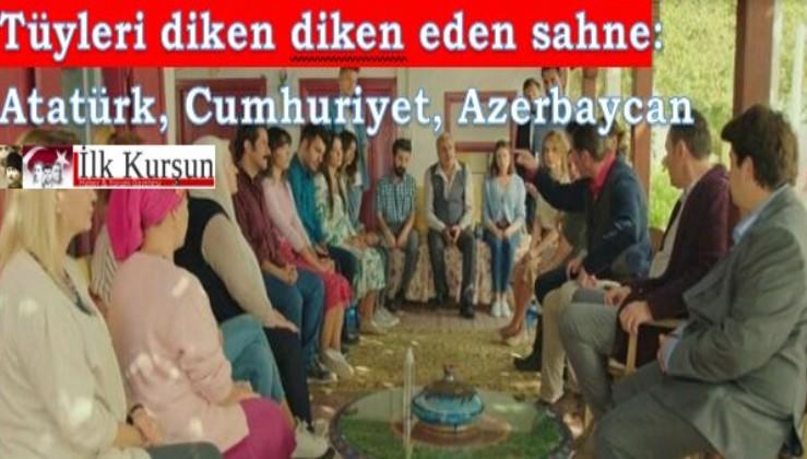 Tüyleri diken diken eden sahne: Atatürk, Cumhuriyet, Azerbaycan