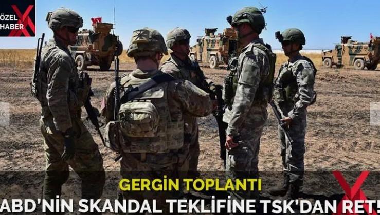 TSK'dan ABD'li askerlere tokat gibi yanıt!