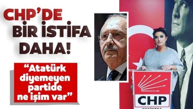 """Süleyman Seba'nın yeğeni CHP'den istifa etti: """"Atatürk diyemeyen partide ne işim var"""""""