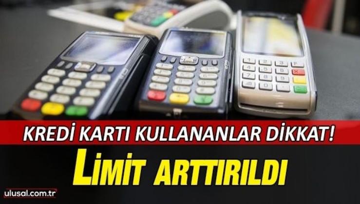 Temassız kartlarda şifresiz işlem limiti 350 liraya yükseliyor