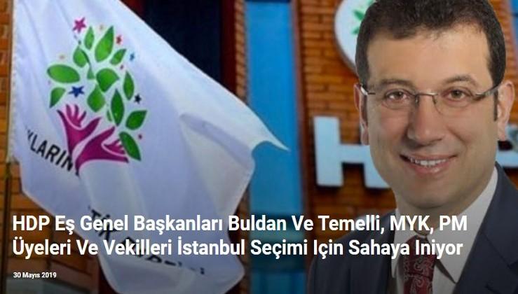 HDP Eş Genel Başkanları Buldan Ve Temelli, MYK, PM Üyeleri Ve Vekilleri İstanbul Seçimi İçin Sahaya İniyor