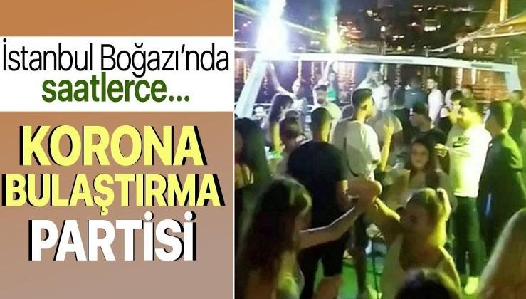 Koronavirüs partileri hız kesmiyor! İstanbul Boğazı'nda tepki çeken görüntü