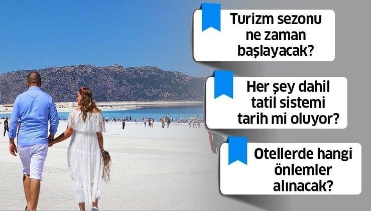 Turizm sezonu ne zaman başlayacak? Her şey dahil tatil sistemi kalkıyor mu? Turizm Bakanı Ersoy'dan önemli açıklamalar