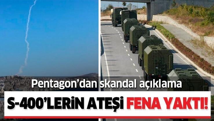 Türkiye'nin S-400 testi ABD'yi rahatsız etti! Pentagon'dan skandal açıklama