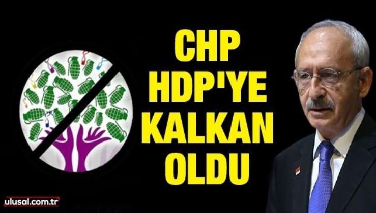 CHP HDP'ye kalkan oldu