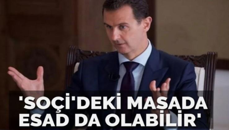 Esad Soçi'de masada olabilir