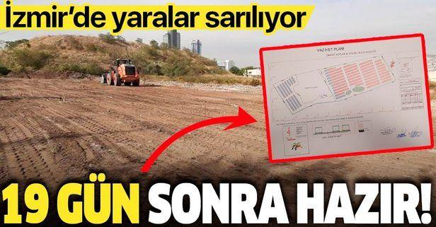 İçişleri Bakan Yardımcısı İsmail Çataklı duyurdu: İzmir'de Konteyner Kent çalışmaları başladı