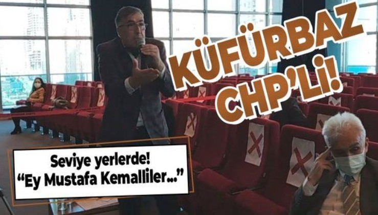 CHP'li Ataşehir Belediyesi Başkan Yardımcısı Abdullah Der'den meclis toplantısında küfür rezaleti!