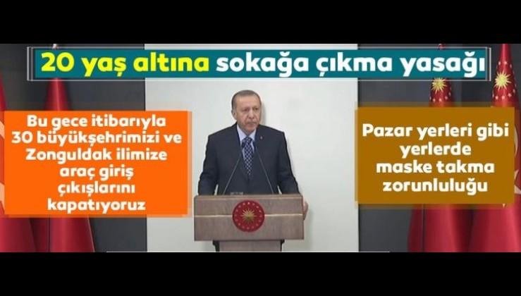 Çok önemli kararlar! Cumhurbaşkanı Erdoğan açıkladı!