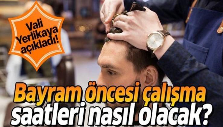 Son dakika: Bayram öncesi kuaför ve berberlerin çalışma saatleri nasıl olacak? İstanbul Valisi Ali Yerlikaya açıkladı
