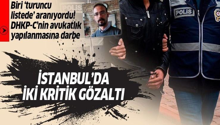 Son dakika: İstanbul'da terör örgütü DHKP-C'ye yönelik iki kritik gözaltı