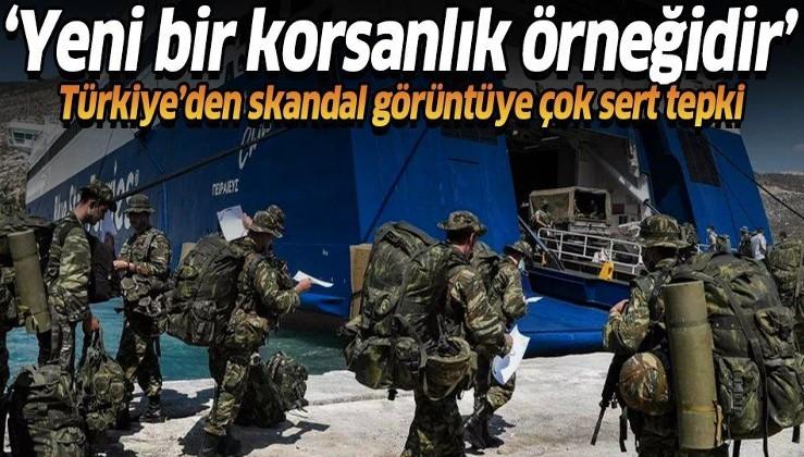 Türkiye'den Yunanistan'ın Meis Adası'nı silahlandırma girişimine çok sert tepki: Yeni bir korsanlık örneğidir