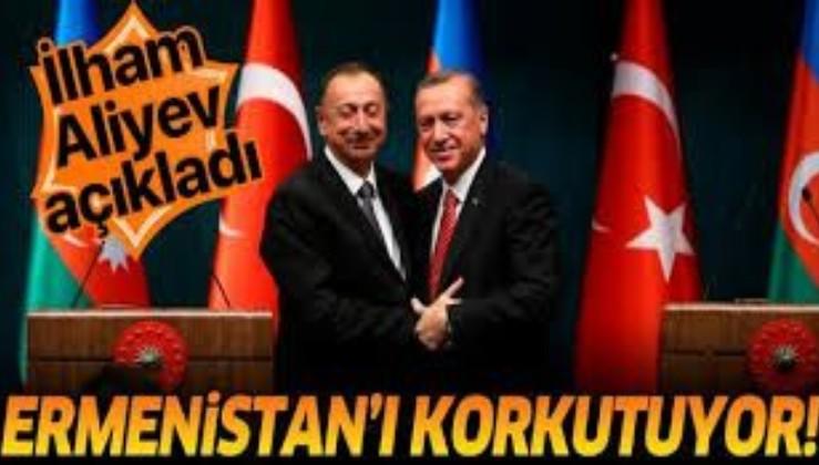 """Azerbaycan Cumhurbaşkanı İlham Aliyev: """"Türkiye ile ortak tatbikatlar Ermenistan'ı korkutuyor"""""""