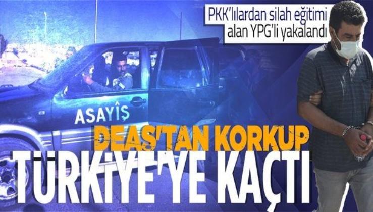 Bölücü terör örgütüne operasyon! Suriye'de PKK'lılardan silah eğitimi alan YPG'li Adana'da yakalandı