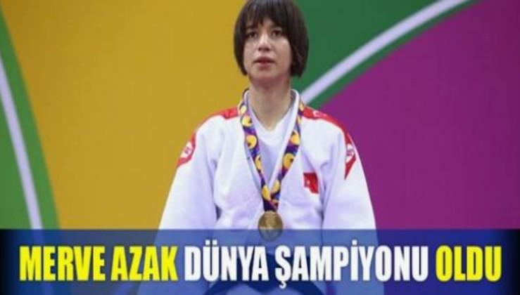 MERVE AZAK, KAZAKİSTAN'DAN DÜNYA ŞAMPİYONU OLARAK DÖNÜYOR!