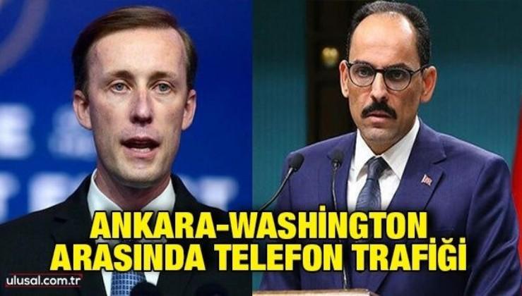 Ankara-Washington arasında telefon trafiği