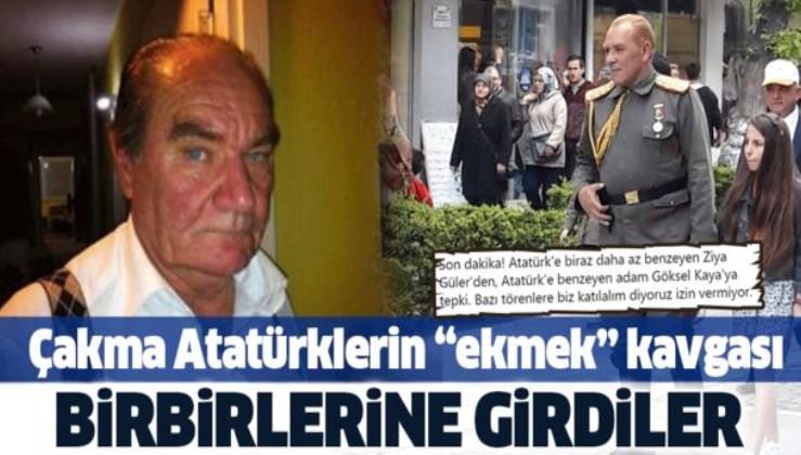 """Çakma Atatürklerin """"ekmek"""" kavgası! Birbirlerine girdiler."""