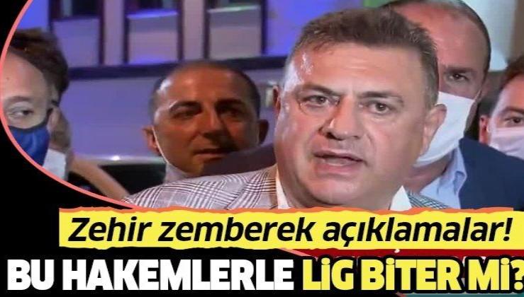 """Çaykur Rizespor Başkanı Hasan Kartal: """"Bu hakemlerle bu lig biter mi?"""""""
