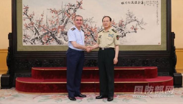 Hava Kuvvetleri Komutanı'ndan Çin'e ziyaret