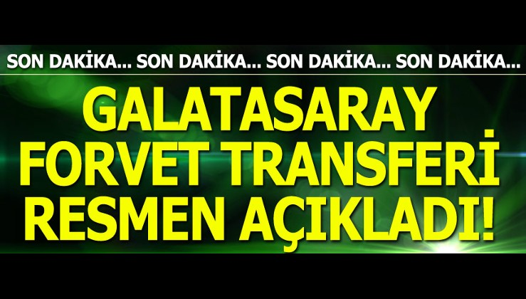 RESMEN AÇIKLANDI ! Mbaye Diagne resmen Galatasaray'da!