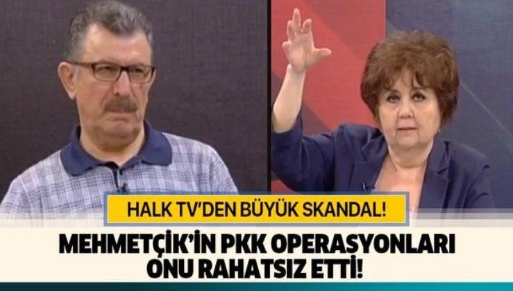 Halk TV'den bir skandal daha! Mehmetçik'in PKK operasyonları onu rahatsız etmiş!