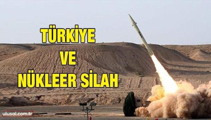 Türkiye ve nükleer silah