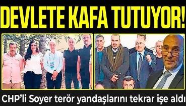 Tunç Soyer devlete kafa tuttu: Terör yandaşı 16 kişiden 11'ini işe geri aldı