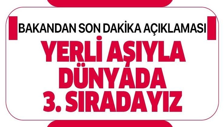 Türkiye'de koronavirüse karşı 17 proje üretiliyor