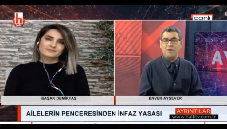 Efsane sunucudan Halk tv'ye PKK'lı elebaşı tepkisi