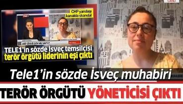 Tele-1 Televizyonu İsveç muhabiri Seda Şanlıer, terör örgütünün yöneticisi!