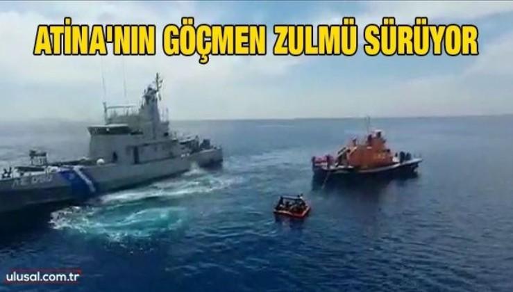 Atina'nın göçmen zulmü sürüyor