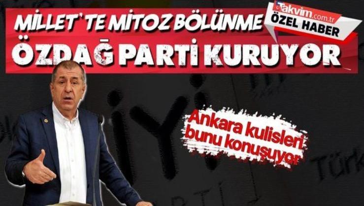 İYİ Parti'den ihraç edilen Ümit Özdağ yeni parti kuruyor!