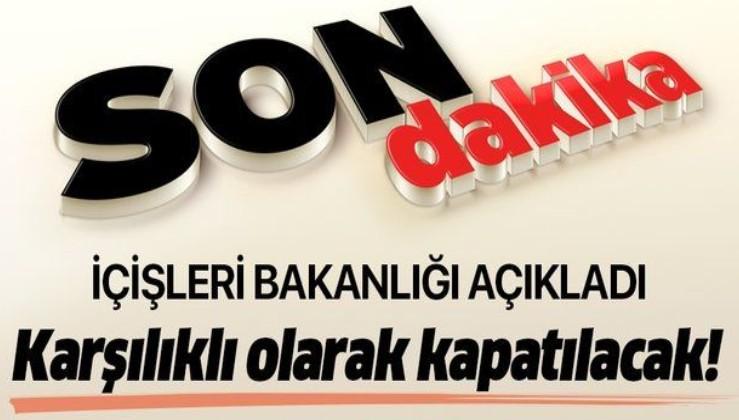 Son dakika: Bakanlık açıkladı: Türkiye ve Gürcistan, Sarp Sınır Kapısı'nı karşılıklı olarak kapatacak.