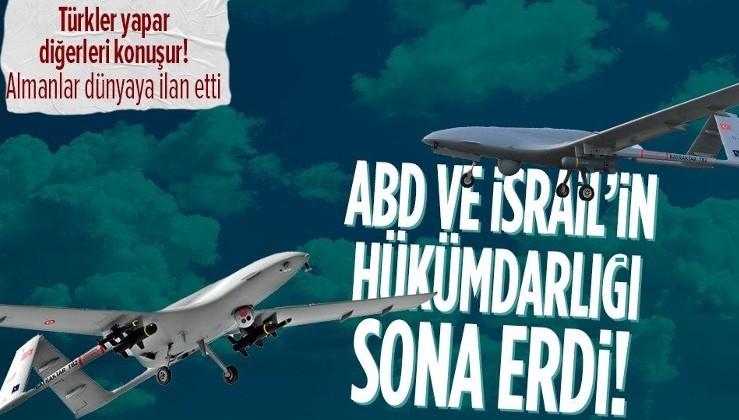 Alman medyası SİHA'ları dilinden düşürmüyor! Türkiye, ABD ve İsrail'i solladı!