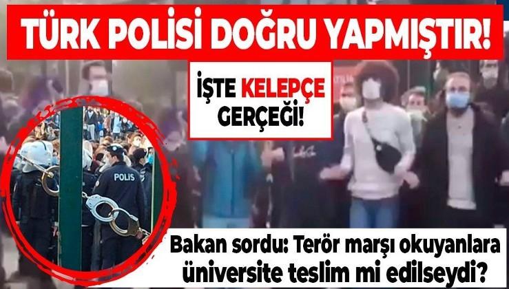 İçişleri Bakanı Soylu'dan 'Boğaziçi' açıklaması: Terörle iltisaklı gruplara izin vermeyen Türk Polisi doğru yapmıştır