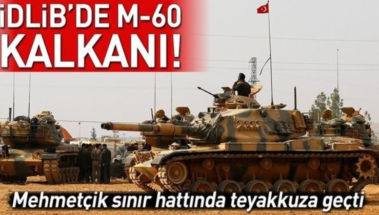 Suriye teröristleri vuruyor, M-60 tankları Suriye sınırına gidiyor: İdlib göçünü durduracak.