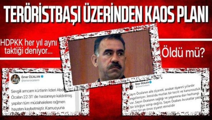 Teröristbaşı Abdullah Öcalan öldü mü? Bursa Cumhuriyet Başsavcılığı'ndan flaş açıklama