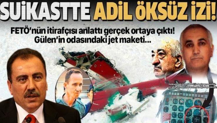 SON DAKİKA: Muhsin Yazıcıoğlu suikastında FETÖ'cü Adil Öksüz izi: 152 kez iletişim kurdu