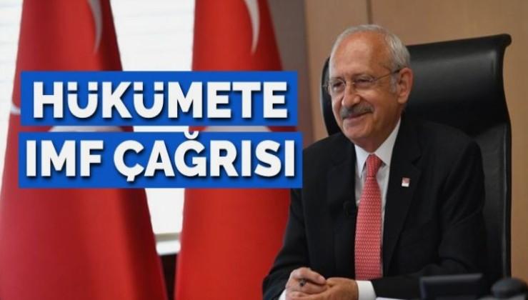 Kılıçdaroğlu: IMF ile yeni düzen netleştirilmelidir