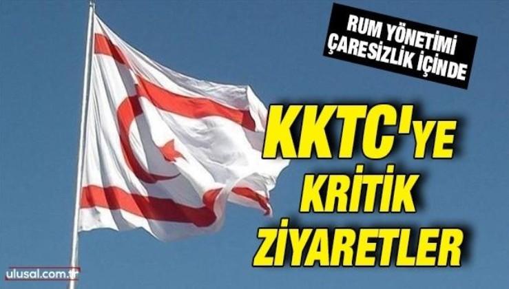 KKTC'ye kritik ziyaretler