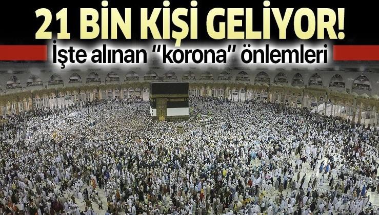 Yarın 'Umre'den 21 bin kişi Türkiye'ye geliyor! İşte alınan koronavirüs önlemleri.