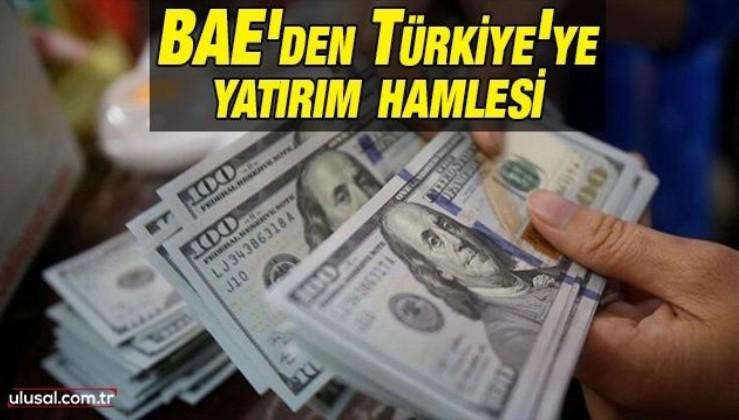 BAE'den Türkiye'ye yatırım hamlesi