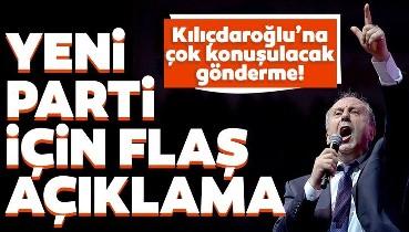 SON DAKİKA: Muharrem İnce'den parti açıklaması: Tüzüğümüzü kabul ettik! Kılıçdaroğlu'na bomba koltuk göndermesi...